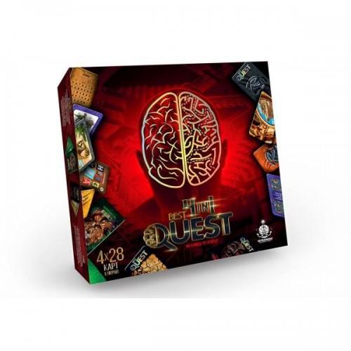 Карточная игра квест BEST QUEST 4in1 01-02 Danko Toys