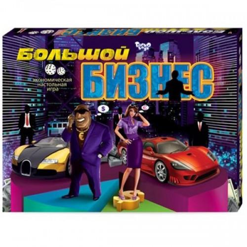 Игра настольная Большой бизнес DT ДТ-БИ-07-01/00005491 ДАНКО ТОЙС