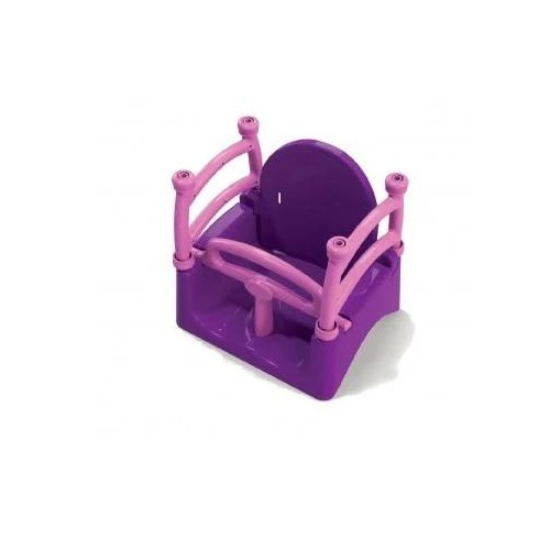 Качель детская фиолетовая или зеленая 0152/1/2 Долони