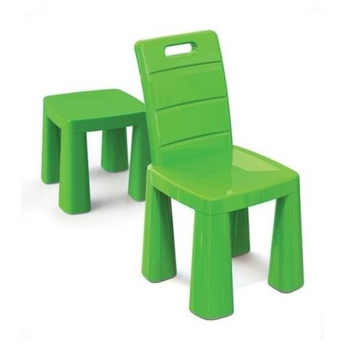Стульчик-табурет детский пластиковый салатовый 04690/2 Doloni