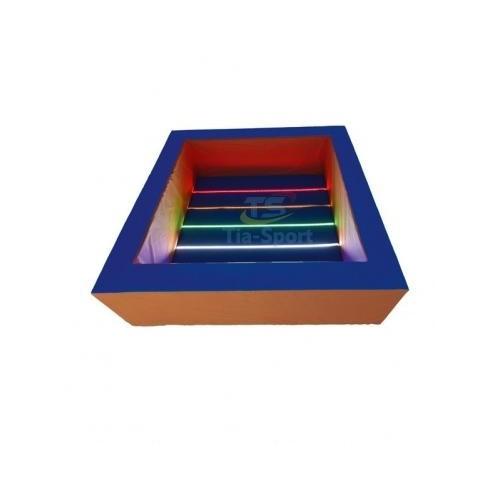 Сухой бассейн с подсветкой квадратный 0527 Тиа Спорт