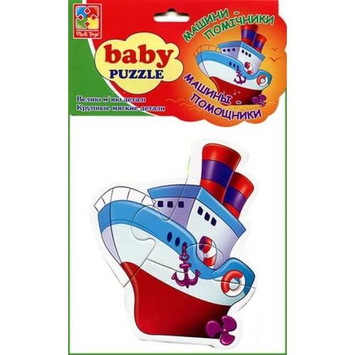 """Мягкие пазлы для детей от 1 до 3-х лет """"Транспорт"""" 1106 Vladi Toys, Днепропетровск"""