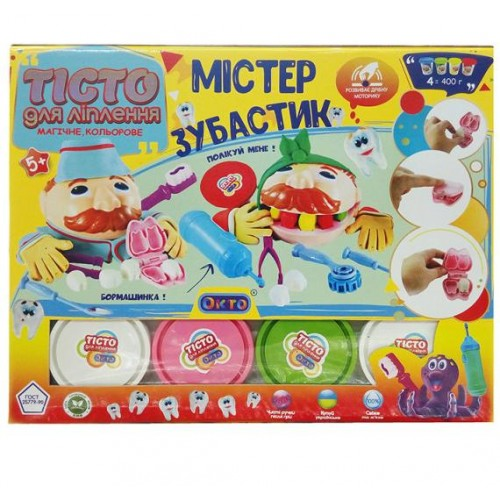 Игровой набор тесто для лепки Мистер Зубастик 11027 Окто