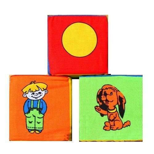 Кубики мягкие 3 штуки 125 Розумна играшка
