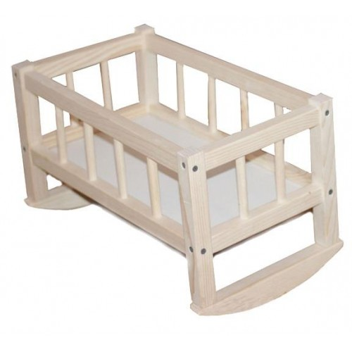 Кроватка деревянная для кукол  СМЕРЕКА 172016 ТМ Дерево