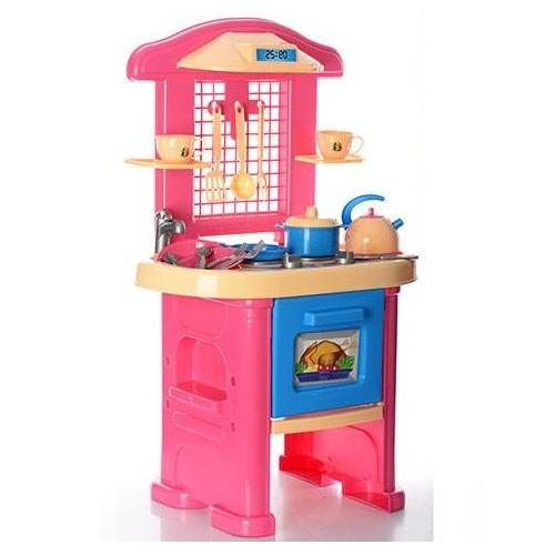 кухня розовая для девочек