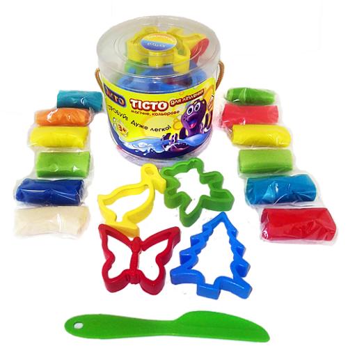 Тесто для лепки детский пластилин в тубе 31000 Окто