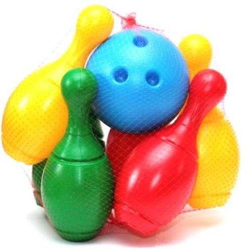 Боулинг из 6 кеглей и большого шара 2780 Технок