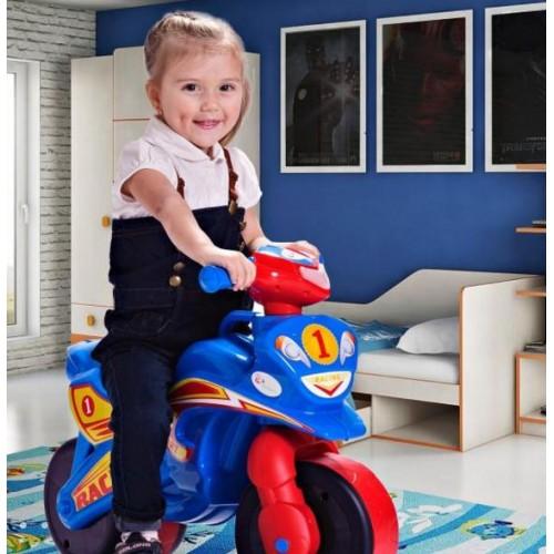 Байк мотоцикл каталка для мальчика Фламинго ТМ Долони