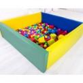 Сухой бассейн прямоугольный с матом 110-110-40 см 0203/01/05 Тia-sport без шариков