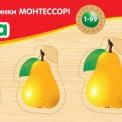 Рамка-вкладыш деревянная по Монтессори Груша РВ-040 Вундеркинд, Одесса
