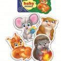 Мягкие пазлы для детей от 1 до 3-х лет