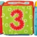 Кубики мягкие 6 штук Цифры VT1401 ВладиТойс