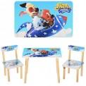 Детский стол и 2 стула голубые 501-29 Виваст, Харьков