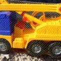 Машинка для мальчиков кран большая