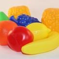 Набор пластиковых  фруктов в сетке ИП.18.000
