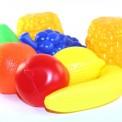 пластиковые детские фрукты
