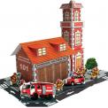 Набор для творчества 3D Пожарная часть URBI