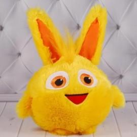 Мягкая игрушка Ушастик желтый 00237-8