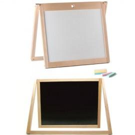Досточка для рисования деревянная двухсторонняя ВП-005 Винни Пух