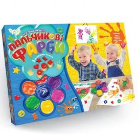 Купить Пальчиковые краски для малышей от 1-го года