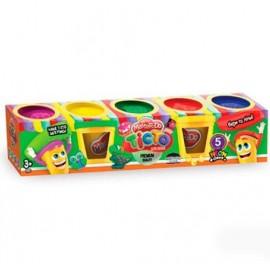 Тесто для лепки Master Do 5 цветов 01-02 Danko Toys