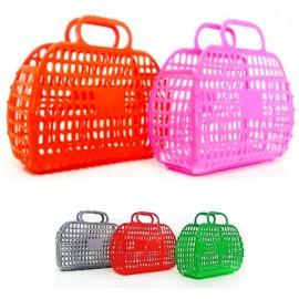 Корзинка-сумочка  пластмассовая ажурная 04-462 Киндервей