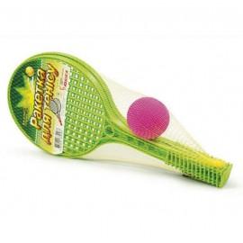 Ракетка малая Теннисный набор 0187 Юника