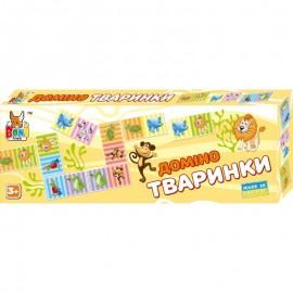 Домино детское животные/птички/рыбки 0202/0219/0226