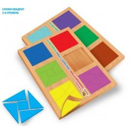 Игра Сложи квадрат 3 уровень Вундеркинд СК-021