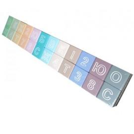 Кубики деревянные цветные с буквами ВП 022/2а Винни Пух