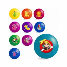 Мяч детский надувной 11 дюймов JumPoPo 02-03