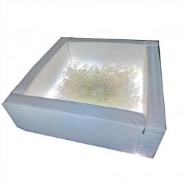Сухой мягкий бассейн Светотерапия квадратный без шариков 0540 Тия Спорт