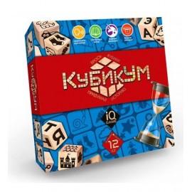Настольная развлекательная игра КубикУм ДТ-БИ-07-39 Danko Toys