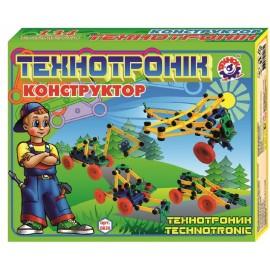 Конструктор Технотроник пластмассовый 134 детали 0830 Технок