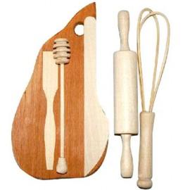 Кухонный деревянный набор для юной хозяйки 1215 ТМ Дерево