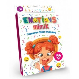 "Карточная игра ""Emotions Mimik"" покажи свои эмоции ДТ-МН-14-17"