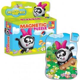 Магнитные пазлы Смешарики Панда в коробке VT1504-29 Vladi Toys