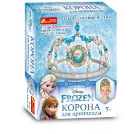 Набор для творчества Корона для принцессы Эльза Холодное сердце 15162069 Ранок