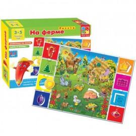 Игра настольная На ферме VT1603-01 Vladi Toys