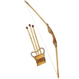 Лук деревянный со стрелами игровой 171873у ТМ Дерево