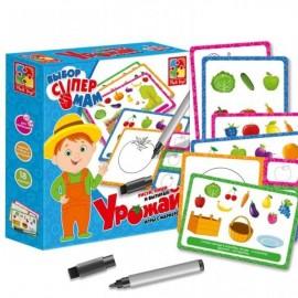 """Простые игры с маркером """"Урожай"""" VT1802-12 Vladi Toys"""