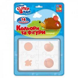 Ассоциации Цвета и фигуры в коробке VT1901-38
