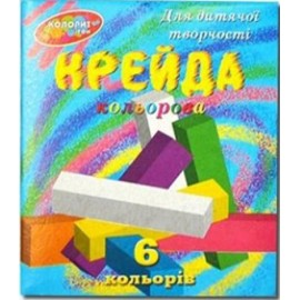 "Мел 6 цветов ""Колорит"" 2008"