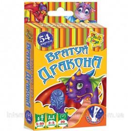 """Карточная игра """"Спаси дракона"""" VT2303-08 Vladi Toys"""