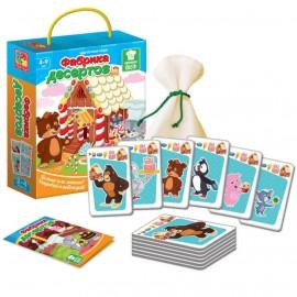 Игра карточная «Фабрика десертов»VT2308-10