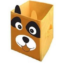 Корзина для игрушек в виде коробка Собака 25-25-38 см УкрОселя