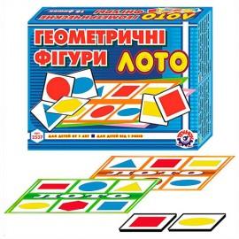 Лото картонное Геометрические фигуры 2537 Технок