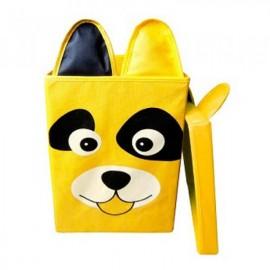 Ящик детский корзина для игрушек собака с крышкой 25*25*38 Укроселя