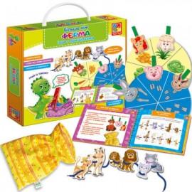 Игры с прищепками. Больше чем Ферма. VT2801-12 Vladi Toys